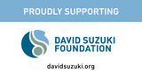 Poco Mono supports the David Suzuki Foundation