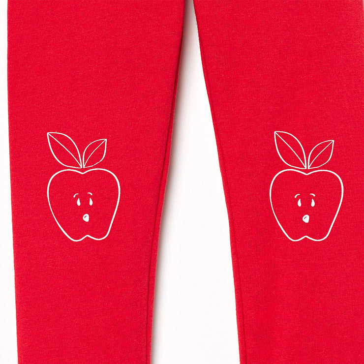 The Organic Apple Knee Legging