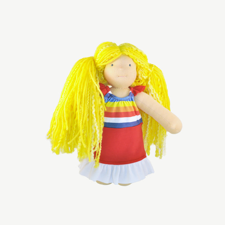 The Rainbow Doll Dress