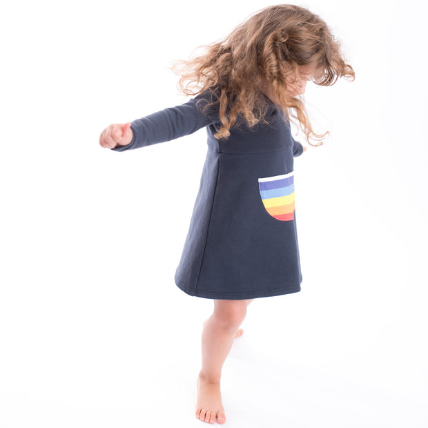 The Long Sleeve Rainbow Dress