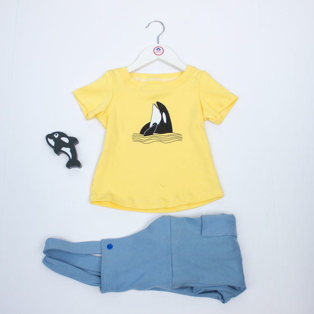 The Yellow Happy Orca T-shirt