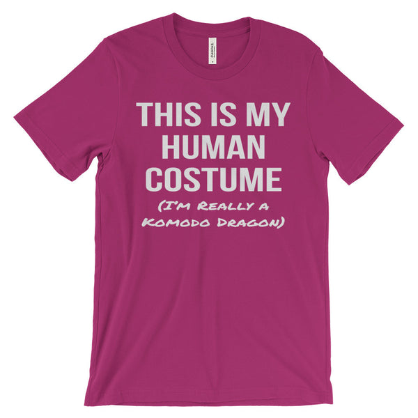 This Is My Human Costume I'm Really a Komodo Dragon Unisex Short Sleeve T-Shirt - EverFresh Designs