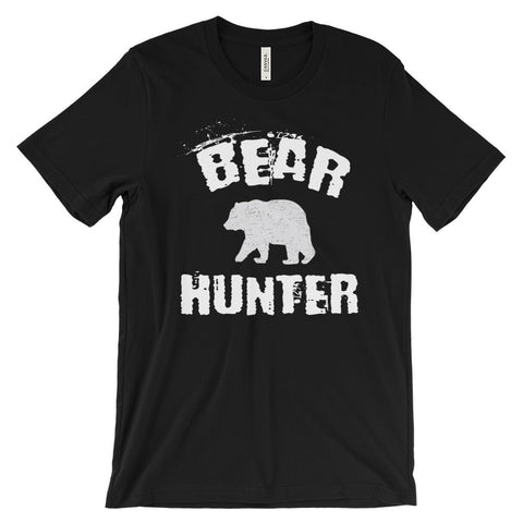 Bear Hunter Hunting Outdoorsman Tee Unisex Short Sleeve T-Shirt - EverFresh Designs