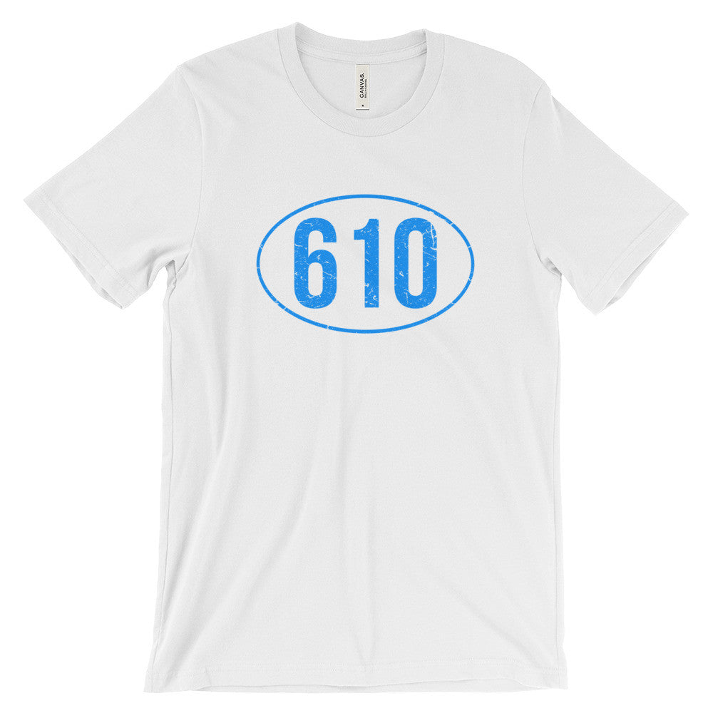 Berks County 610 Reading PA Pride Pennsylvania Tee Unisex Short Sleeve T-Shirt - EverFresh Designs