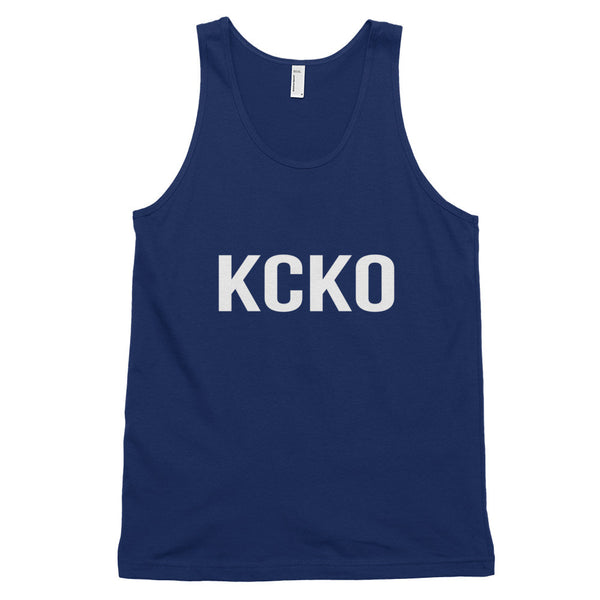 KCKO Keep Calm Keto On Ketogenic Classic Tank Top (Unisex) - EverFresh Designs