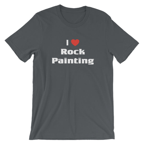 i love rock painting