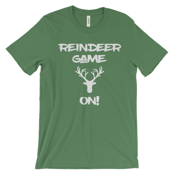 Reindeer Game On Funny Christmas Holidays Unisex Short Sleeve T-Shirt - EverFresh Designs