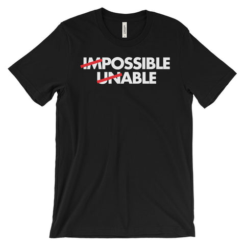 Possible Able T-Shirt Disability Advocate Awareness Unisex Short Sleeve T-Shirt - EverFresh Designs