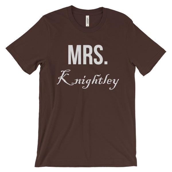 Mrs Knightley Jane Austen Emma Unisex Short Sleeve T-Shirt - EverFresh Designs
