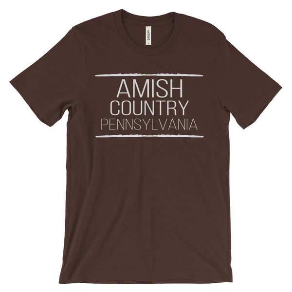 Amish Country PA Shirt Pennsylvania Unisex Short Sleeve T-Shirt - EverFresh Designs