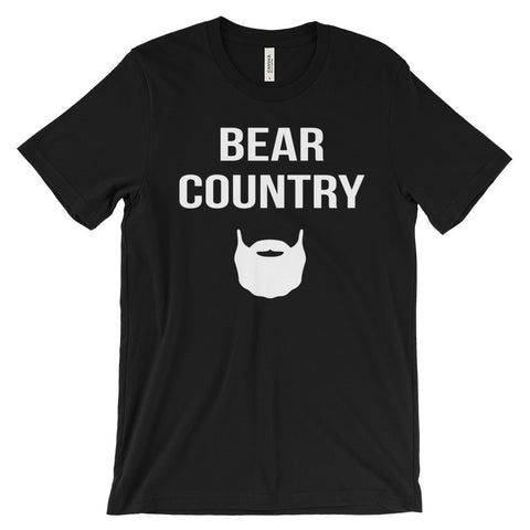 Bear Country Beard Father's Day Unisex Short Sleeve T-Shirt - EverFresh Designs