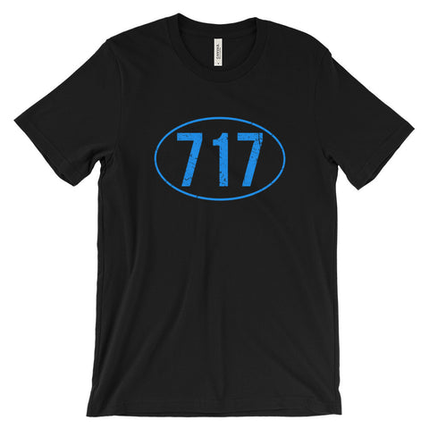 Lancaster County PA Pennsylvania 717 Shirt Amish Country Tee Unisex Short Sleeve T-Shirt - EverFresh Designs
