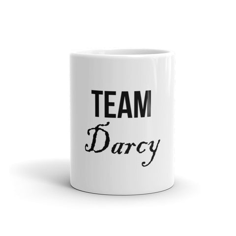 Team Darcy Jane Austen Pride & Prejudice Mug - EverFresh Designs