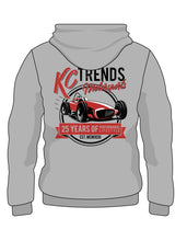 KC Trends Retro 25th Anniversary Hoodie - Heather Gray