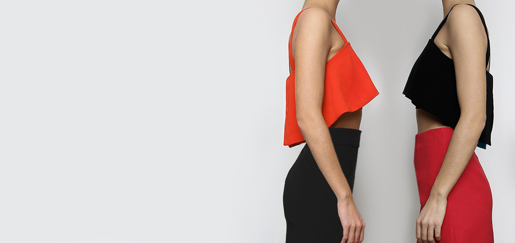 Separates collection from BELLA London. Tops and skirts.