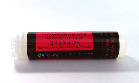 Pomegranate Lip Balm