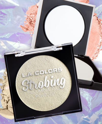 Strobing illuminating powder