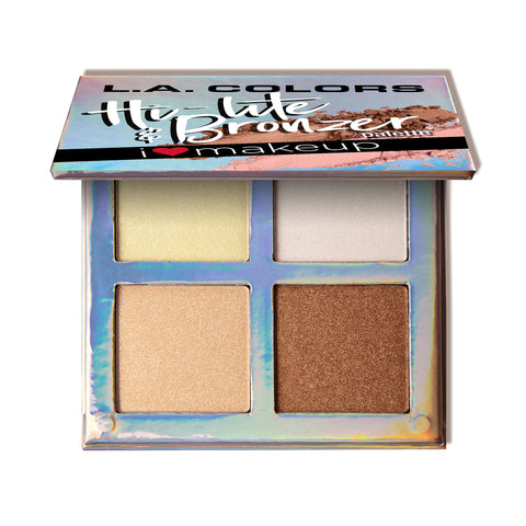 Beauty Booklet - Hi-lite & Bronzer Palette