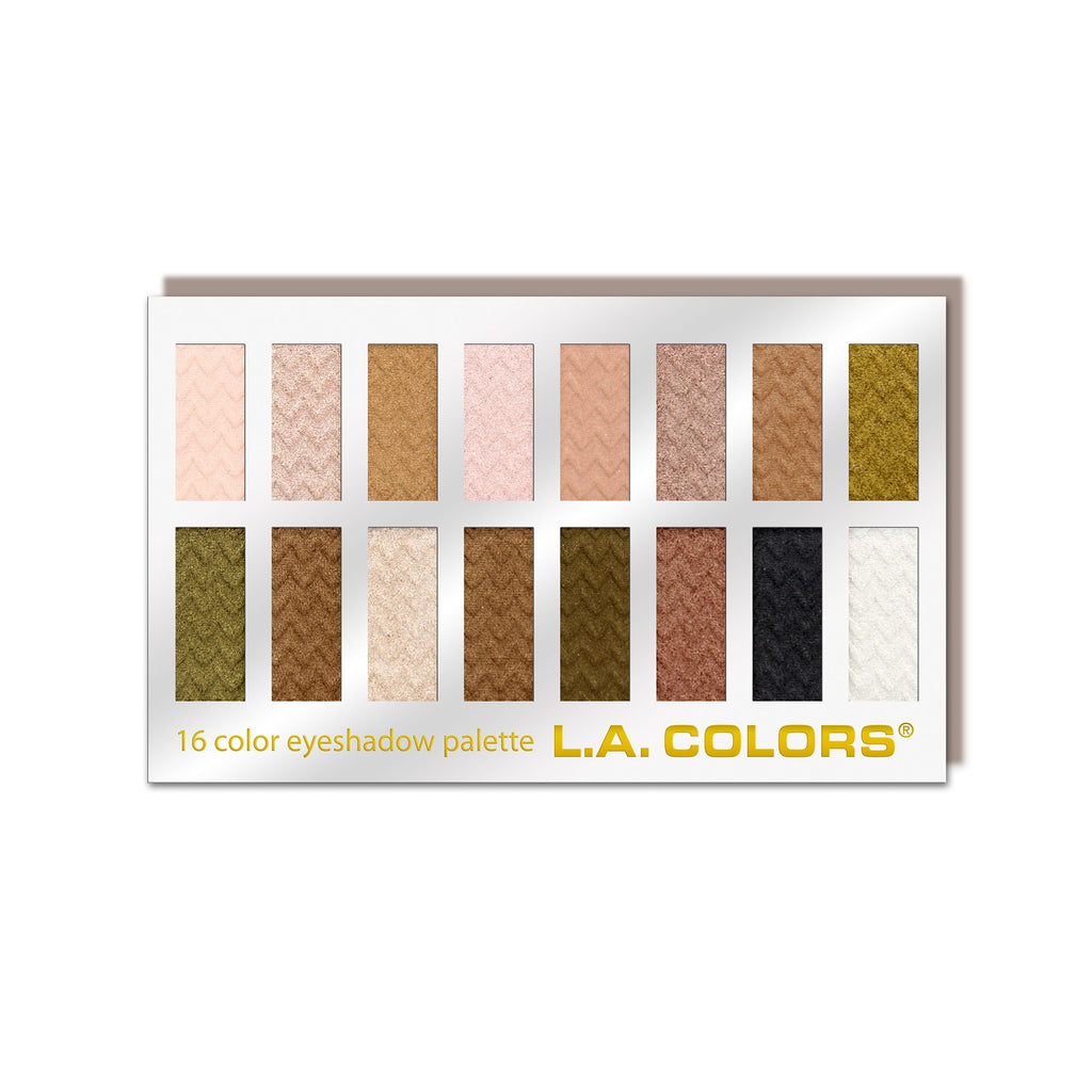 16 Color Eyeshadow Palette (carded)