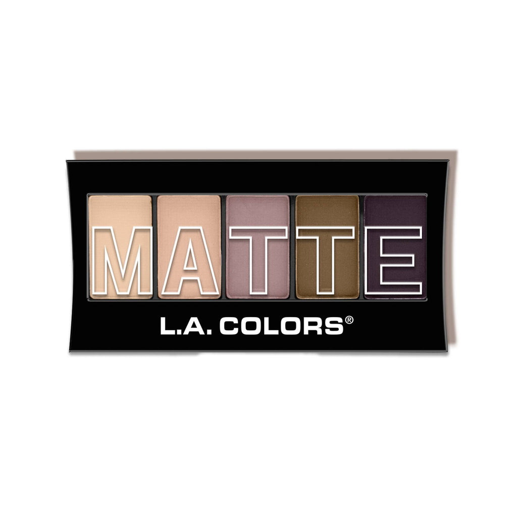 5 Color Matte Eyeshadow Palette