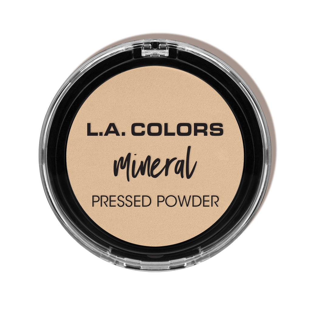 L.A. Colors Mineral Pressed Powder, Soft Honey