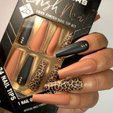 Lavish Nail Luxe Finish Nail Tip Kit (carded)