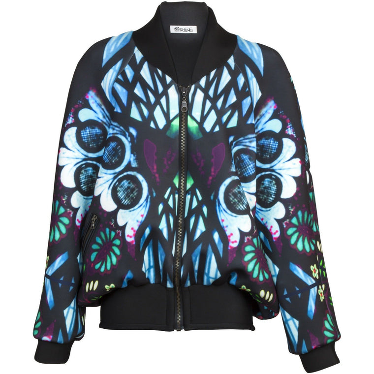 Bomber Jacket - Tiffany Bomber Jacket