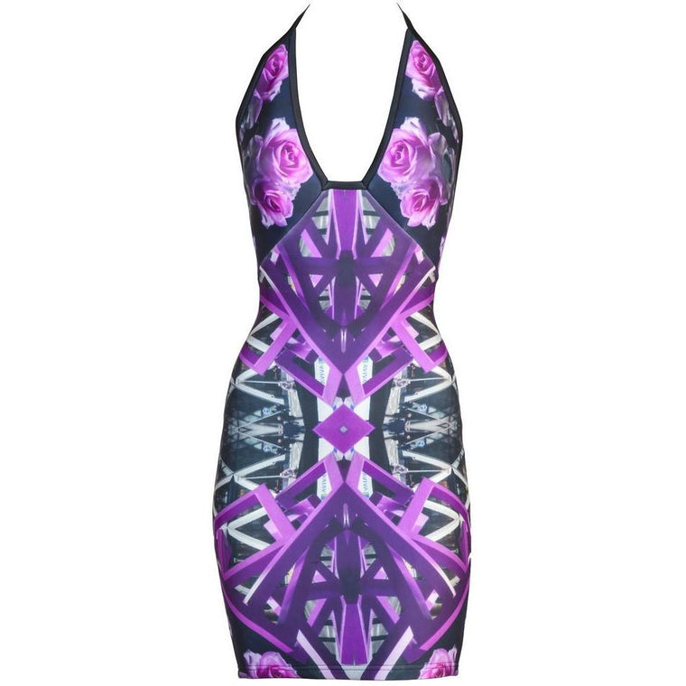 Cocktail Dresses - Salvia Bodycon Dress
