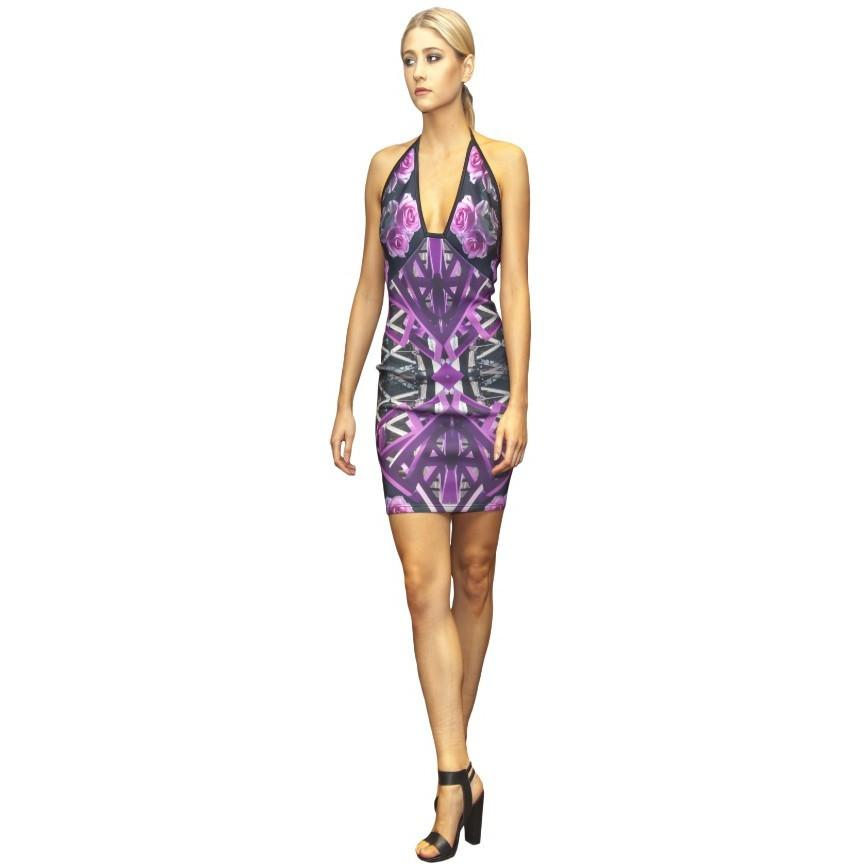 Salvia Bodycon Dress - Petriiski