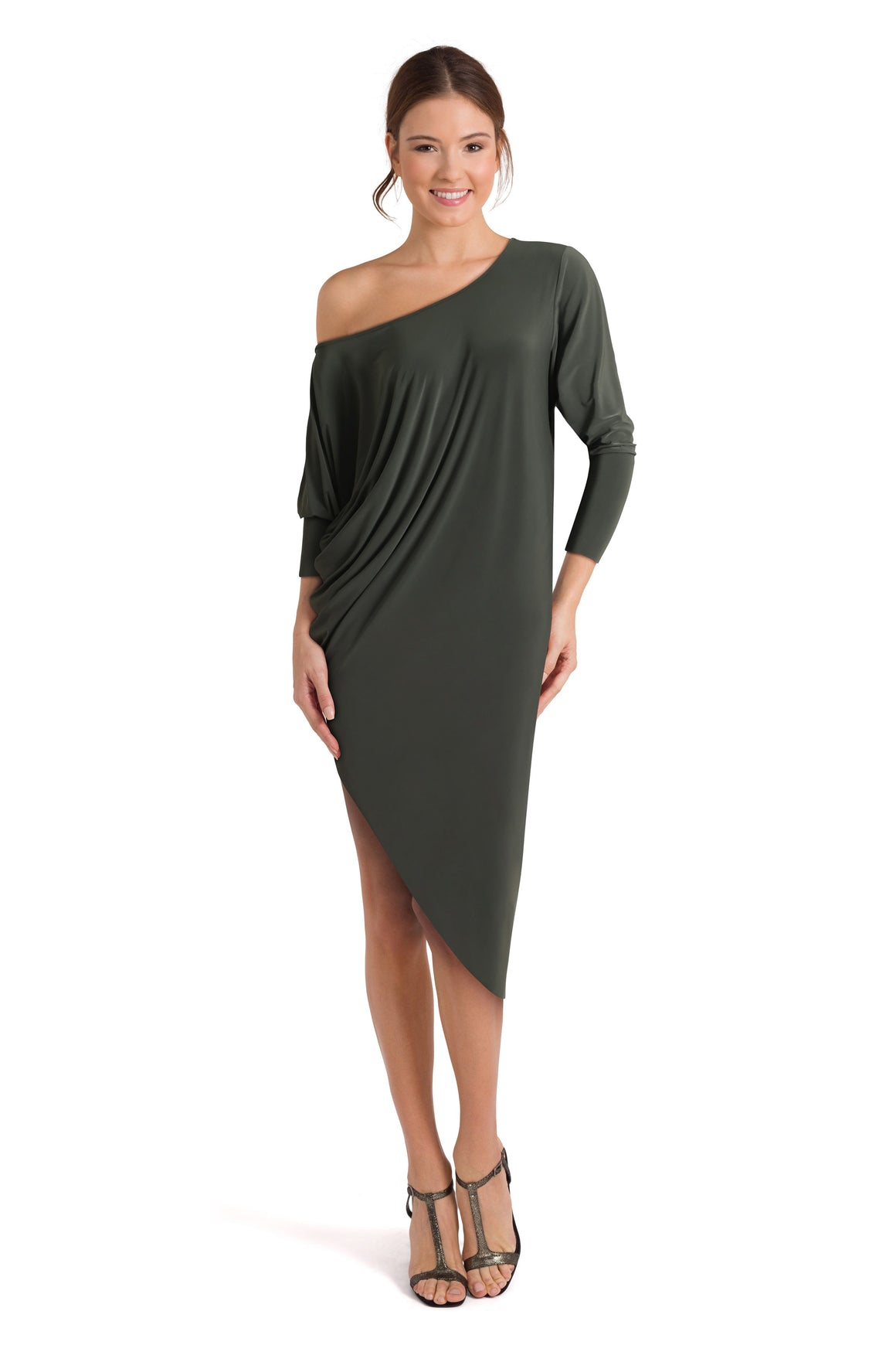 Oxford drape dress - Petriiski