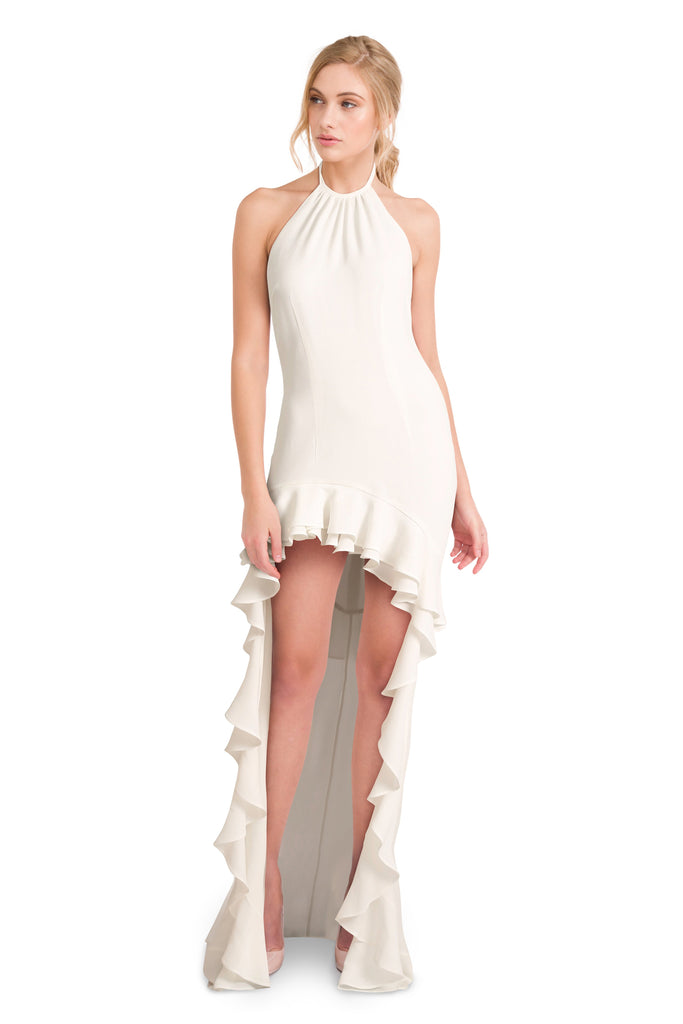 Georgina white dress - Petriiski