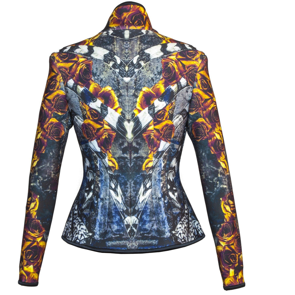 Fire Rose Tailored Jacket - Petriiski