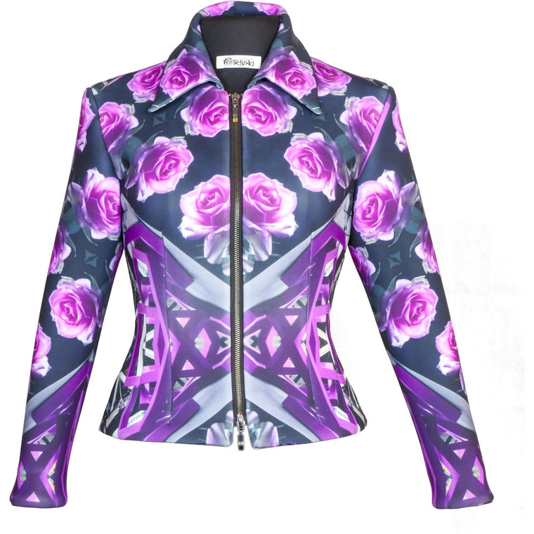 Women Jacket - Salvia Tailored Women Jacket