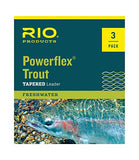 RIO Products Leaders Powerflex Knotless 9' 3X