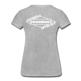 TroutBus - Advocacy Women's Premium T-Shirt - heather gray