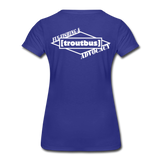 TroutBus - Advocacy Women's Premium T-Shirt - royal blue