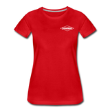 TroutBus - Advocacy Women's Premium T-Shirt - red