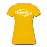 TroutBus - Advocacy Women's Premium T-Shirt - sun yellow