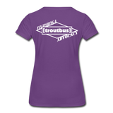 TroutBus - Advocacy Women's Premium T-Shirt - purple