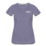 TroutBus - Advocacy Women's Premium T-Shirt - washed violet