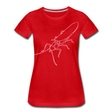 TroutBus - Salmonfly Women's Premium T-Shirt - red