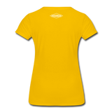 TroutBus - Salmonfly Women's Premium T-Shirt - sun yellow