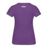 TroutBus - Salmonfly Women's Premium T-Shirt - purple