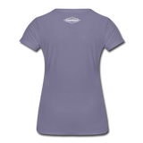 TroutBus - Salmonfly Women's Premium T-Shirt - washed violet
