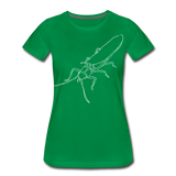TroutBus - Salmonfly Women's Premium T-Shirt - kelly green