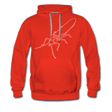 TroutBus - Salmonfly Men's Premium Hoodie - red