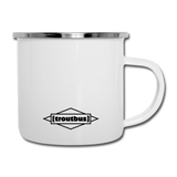 TroutBus - Pinched Camper Mug - white