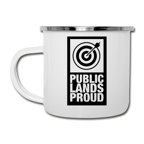 Public Lands Proud - Archery Camper Mug - white