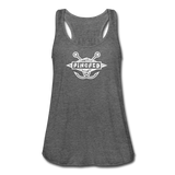 TroutBus - Pinched Women's Flowy Tank Top by Bella - deep heather