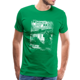 TroutBus Quote Graphic - Men's Premium T-Shirt - kelly green